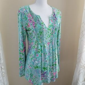 Lilly Pultizer Braylen Southern Charm Poole Blue